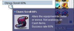 chaos scroll