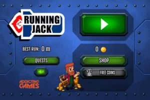 running jack flash game
