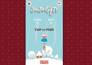 santa gifts flash game