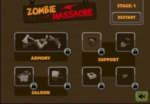 zombie massacre flash game