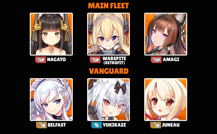 Azur Lane best fleet example dazilla